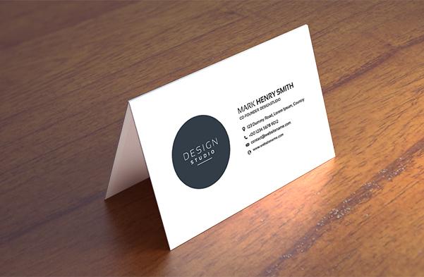 Folded Cards -1 sided